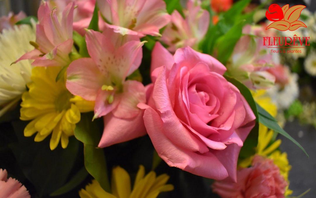 Compositions florales de Juin 2018
