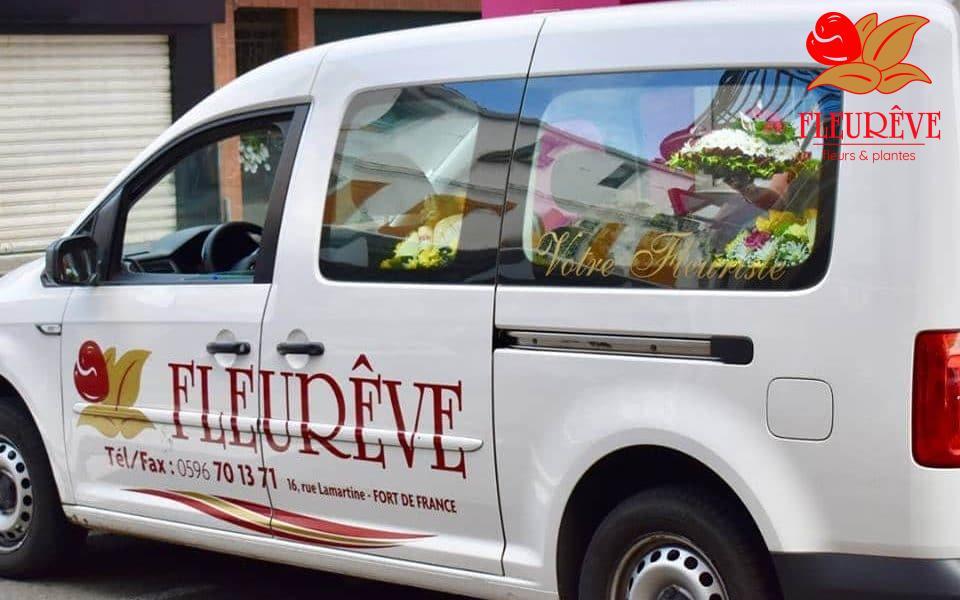 fleureve livraison de fleurs en martinique