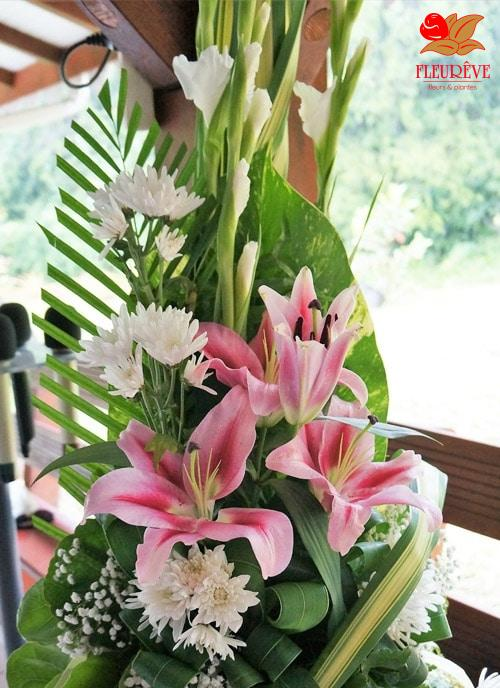 Fleurs Pour Le Mariage En Martinique Par Fleureve Artisan Fleuriste