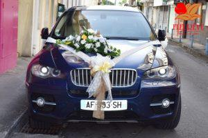 BMW X6 fleurie mariage cortège par fleurêve