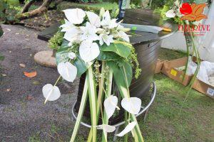 fleurs-pour-le-mariage-en-martinique préparatifs fleurir mariage martinique par fleureve