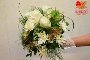 fleurs-pour-le-mariage-en-martinique bouquet de la mariée réalisé par Fleurêve