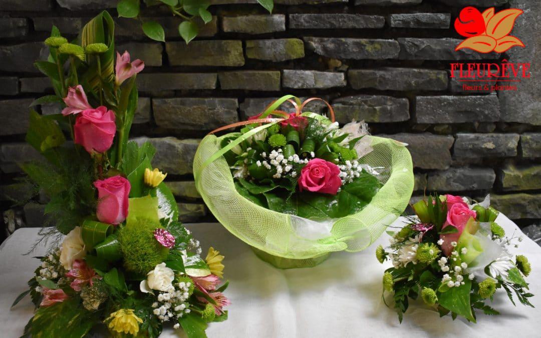 Compositions florales de la rentrée