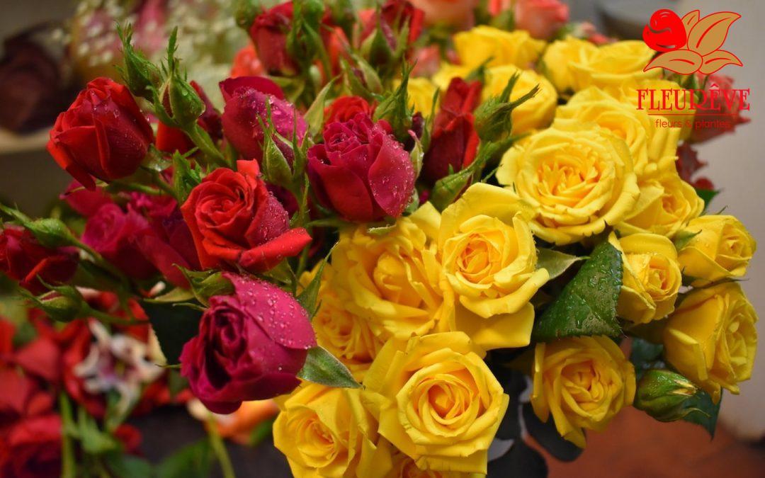 Fleurêve propose des roses Spray !
