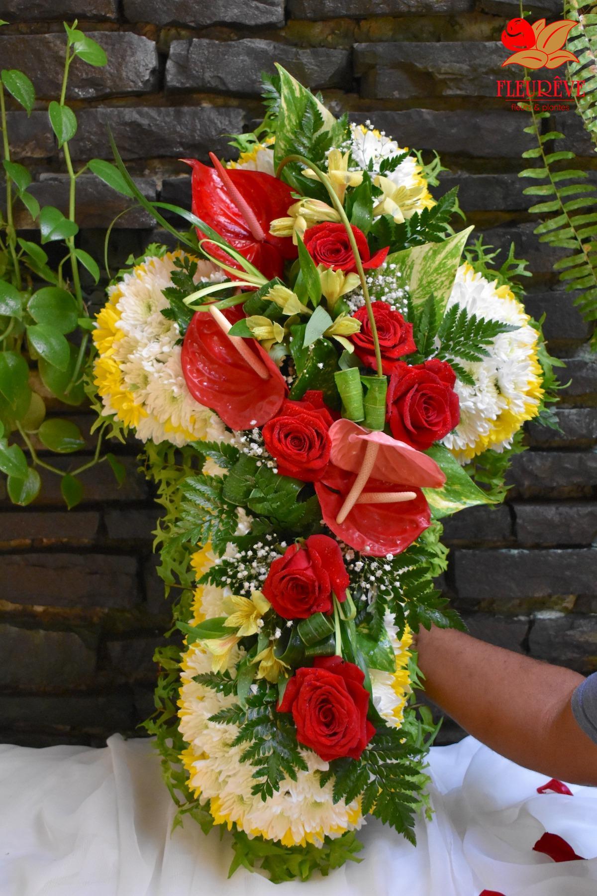 Fleurêve Fleuriste en Martinique vous propose de nombreuses variétés de roses