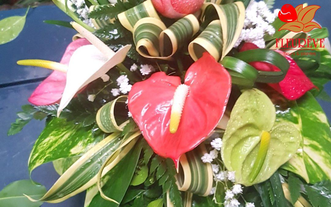 Quelques bouquets de fleurs pour mariages