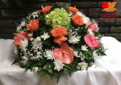 gerbe deuil tons pastel - fleureve 013