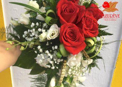 bouquet de fleurs mariage martinique