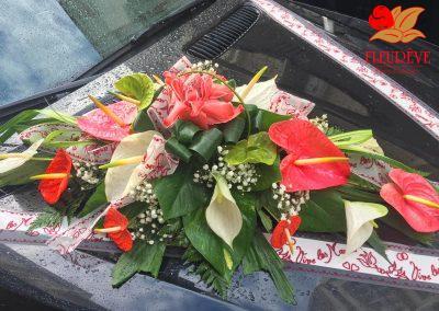 bouquet de fleurs pour les mariages